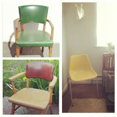 Mix of chairs