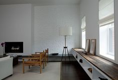 Bench on right.  Khanna Schultz, Cobble Hill Townhouse, Architect Is In   Remodelista