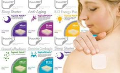 1 Month Supply of Weight Loss, Vitamin, or Anti-Aging Patches - Cool Stuff - 5 different options: Green Coffee Bean, Garcinia Cambogia, Sleep Starter, B12 Energy or Anti-Aging - 3-layer patches release essential vitamins supplements throughout the day when applied to the skin - Up to 19x more effective than pill supplements since the nutrients don't go through your digestive system - No more having to force down 5 to 6 large pills a day to meet your vitamin needs - ibourl.com/vvx #diet…