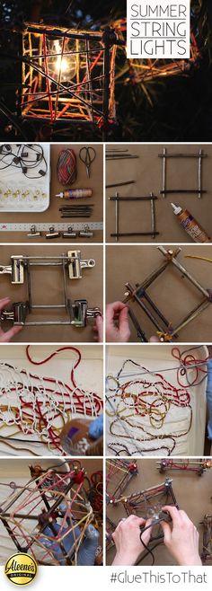 Summer Soirée String Lights DIY | iLoveToCreate