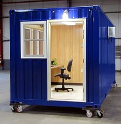 Shipping Container Homes: SnapSpace Solutions, Brewer, Maine, Container Office,