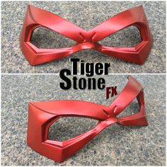 Jason Todd Red Hood inspired mask made by Tiger Stone FX