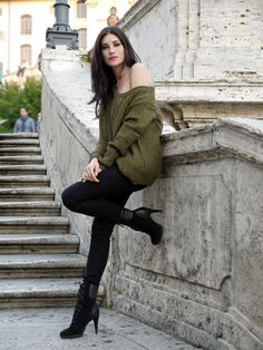 "AxParis sweater, Aeropostale jeans and Bata boots for a sexy look by ""Deeply Diva"", Italy"