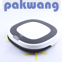 PAKWANG Wet and Dry Robot Vacuum Cleaner D5501 for Home and Office, White Robot Aspirador