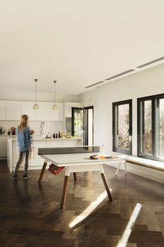 You and Me Collection: a multifunctional and complete set ofbenches and ping-pong tables