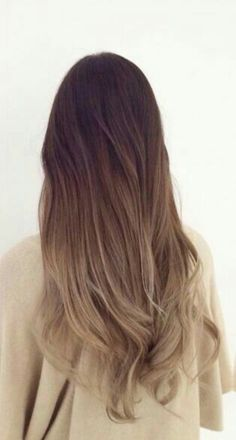 New hair color ideas for brunettes ombre brown dark balayage hairstyle ideas Brunette Ombre, Brunette Hair, Ombre Hair Color For Brunettes, Ash Ombre, Light Ombre, Blonde Hair, Ombre Brown, Hair Day, Gorgeous Hair