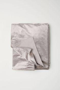Velvet Bedspread - Light taupe - Home All | H&M CA 1