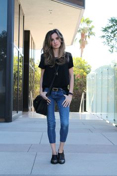 20 Ways Cropped Jeans are a Great Way to Start Showing Some Skin | StyleCaster