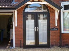 Modern, energy efficient uPVC doors, including patio doors and entrance doors, custom- made in a range of colours and glass designs throughout Cheshire.