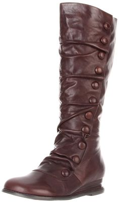 Miz Mooz Women's Bloom Knee-High Extended Calf Boot -- This is an Amazon Affiliate link. You can find out more details at the link of the image.