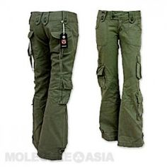 Alternatives to Convertible Travel Pants A great alternative to convertible pants are cargo pants for women. They have a utility feel, convenient pockets, and can easily be found in durable fabrics.