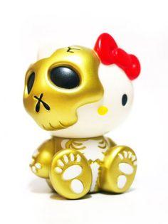 HELLO KITTY Skull Secret Base Ver. vol.6 Gold