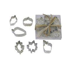 Dress My Cupcake DMC41CC1991/B Mini Leaf 6-Piece Cookie Cutter Set >> Review more details @ : Baking Accessories