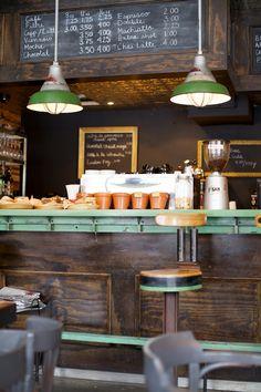 Café Mariani- St-Henri, Notre-Dame Ouest, Montreal