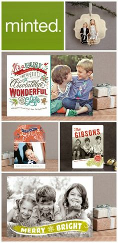 Minted Christmas Cards - That Mama Gretchen