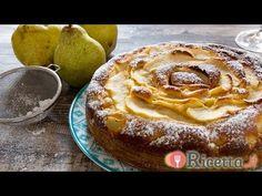 Torta morbida ricotta e pere - Ricetta.it - YouTube