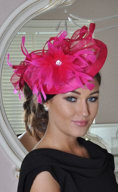 Julie Pink Fascinator