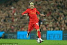 Liverpool's Alberto Moreno has been in Vitolo's ear about moving to the Premier League