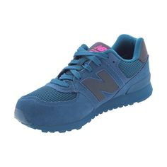 New Balance - Girl's Urban Twilight 574 Sneakers (Big Kid) - Teal