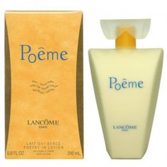 Crema Corporal del #perfume Poeme de #Lancome