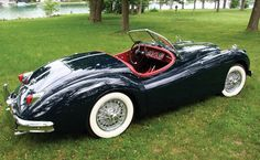 1956 Jaguar XK140MC Roadster (another view)