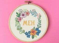 Cross Stitch Patterns Free Easy, Counted Cross Stitch Patterns, Star Patterns, Cross Stitch Embroidery, Funny Needlepoint, Cross Stitch Quotes, Flowers Nature, Digital Pattern, Cross Stitching