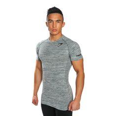 GymShark Fit Seamless T-Shirt - Ember T-shirts | GymShark International | Innovation In Fitness Wear