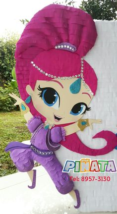 25 ideas de piñatas Fiesta Shimmer y Shine Shimmer And Shine Decorations, Shimmer And Shine Cake, 4th Birthday, Birthday Parties, Birthday Ideas, Pinata Candy, Diy And Crafts, Paper Crafts, Lol Dolls