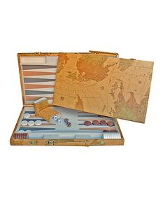 15 inch map backgammon set brown backgammon pinterest take a look at this map backgammon today publicscrutiny Choice Image