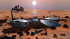 I julen 2003 mistet ESA en sonde som skulle lande på Mars. Nå er den funnet igjen - i god behold.