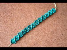 pulseras de hilo fáciles y rápidas | tutoríal macrame - YouTube