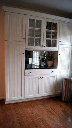 Custom pantry for extra storage in kithcen