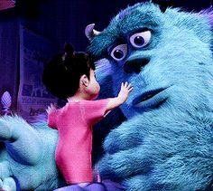 Imagen de boo, monster, and hug