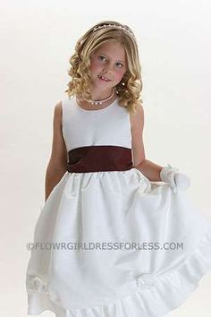 7113d3eff3b0 43 Best Burgundy and Wine Flower Girl Dresses images