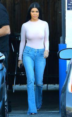 Kourtney Kardashian Flaunts Super-Skinny Waist and Hot Body Following Scott Disick Split (Best Breakover Ever?!)  Kourtney Kardashian