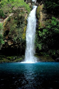 Waterfall in Rincon de la Vieja National Park, Costa Rica - Been here! Want to take the kids!