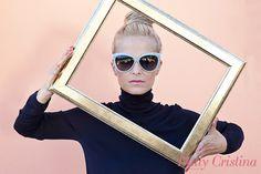 CRISTINA FERREIRA - Linda Farrow Sunglasses
