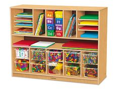 #LakeshoreDreamClassroom - Classic Birch Spacemaker Storage Unit