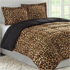 Animal Print Bedding for a Totally Wild Room!