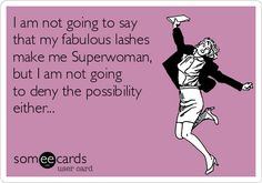 Definitely not denying it! www.StephaniesSpectacularLashes.com