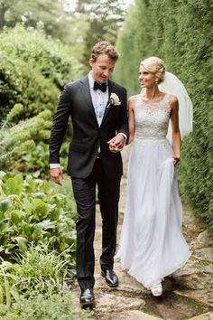 Helen Rodrigues real bride featured wearing our Mira Zwillinger gown. www.helenrodrigues.com.au