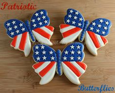 I'm attending a party for Memorial Day and I'm taking cookies with me to the party. On a recent trip to Hobby Lobby I came across this butterfly and I knew that I wanted to cookie it. I had planned on making it for the Fourth of July but when I got invited to this …