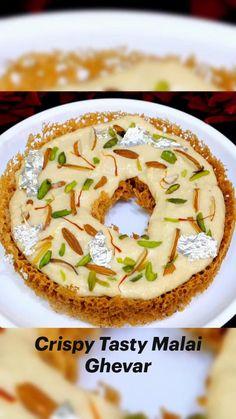 Kulfi Recipe, Chaat Recipe, Tasty Vegetarian Recipes, Snack Recipes, Cooking Recipes, Tastemade Recipes, Indian Dessert Recipes, Dishes, Kitchen