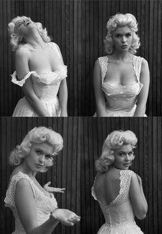 Jane Mansfield ~ Her I.Q. was reported to be a 163. (IMDB) Yes so you should not judge a blonde to para phase as ( A Dumb Blonde )