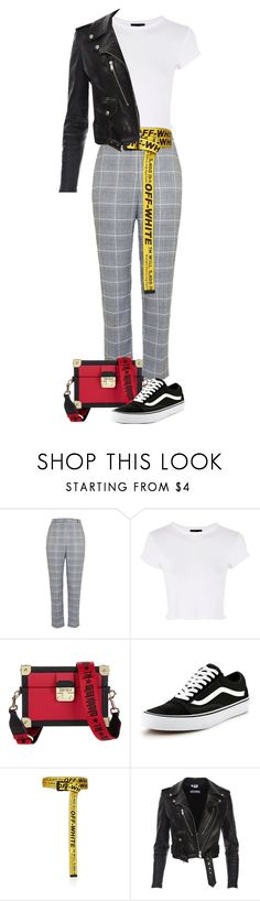 """""""Untitled #1081"""" by julianne28 on Polyvore featuring Topshop, Tommy Hilfiger, Vans and Off-White"""