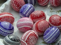 Painted Easter Eggs Pisanki Poland