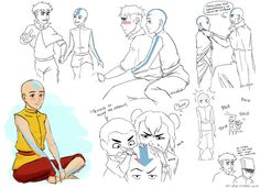 airbending master jinora is still getting used to the shaved head