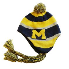 abb2078aeac Varsity Stripe - University of Michigan  24.99 Our newest ski hat design  for  goblue fans