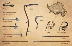 Weapons (4): maces, hammers, spears, and miscellaneous weapons (Egil Thompson)