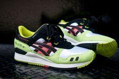 Asics Gel Lyte 3 Neon #sneakers